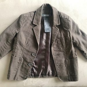 Kenneth Cole Toddler Blazer Brown
